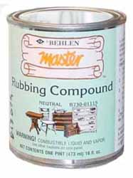 Behlen Rubbing Compound