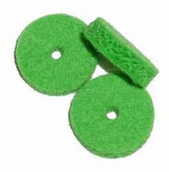 Front Rail Punchings - Pear Green